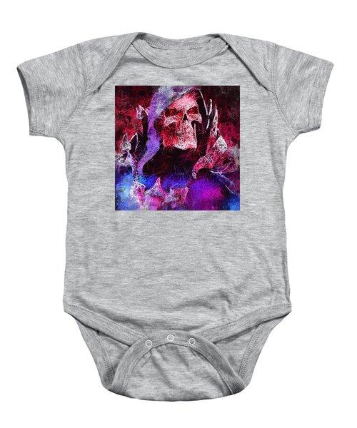 Skeletor Baby Onesie