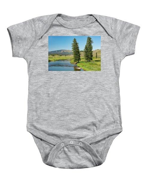 Slough Creek Baby Onesie