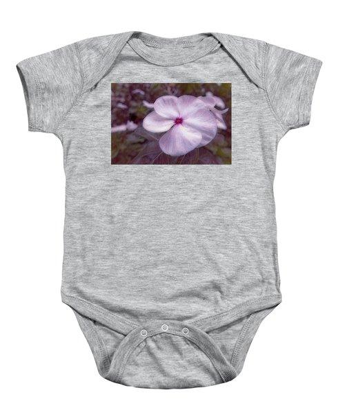 Small Flower Baby Onesie