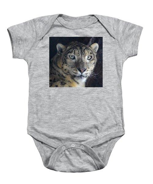 Snow Leopard Baby Onesie