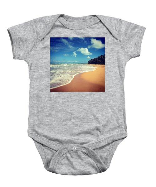 Solitude Beach Baby Onesie
