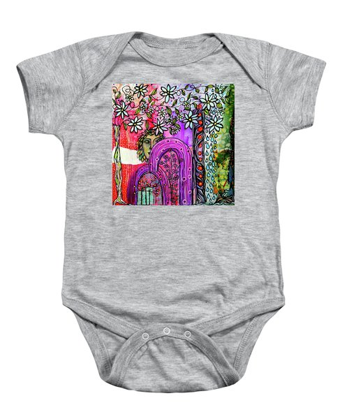 Something About Spring Baby Onesie