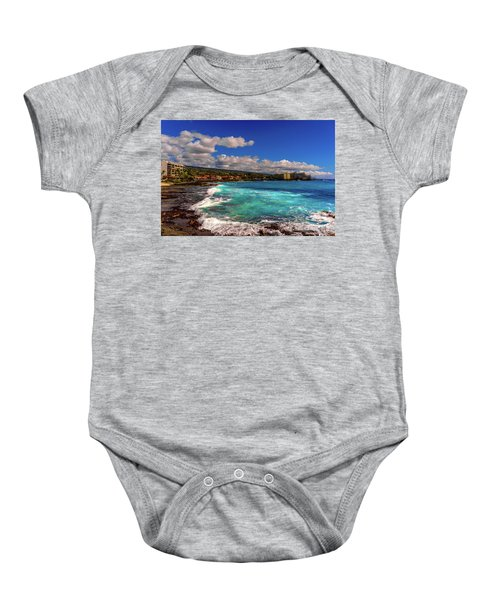 Southern View Of The Shore Baby Onesie
