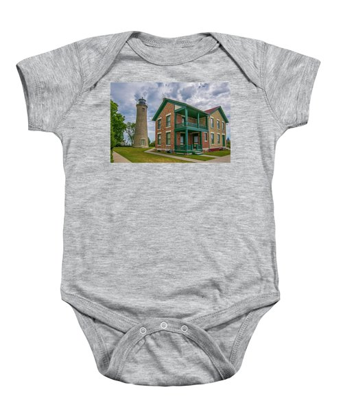 Southport Lighthouse  Baby Onesie