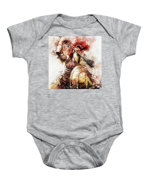 Spartan Hoplite - 54 Baby Onesie