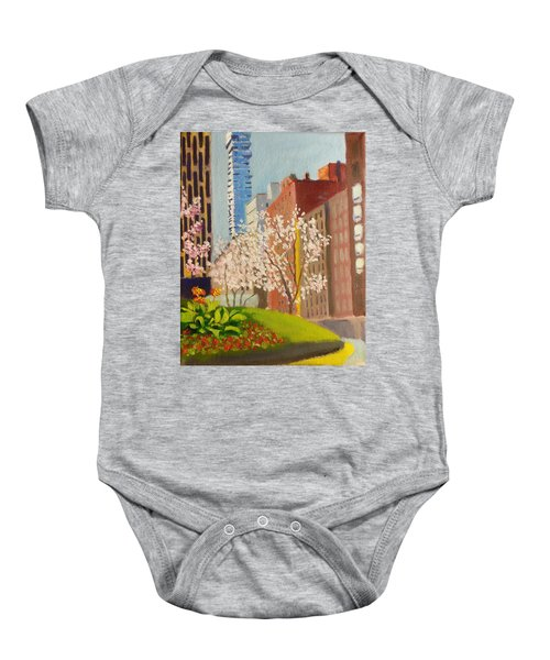Spring In Worth St Baby Onesie