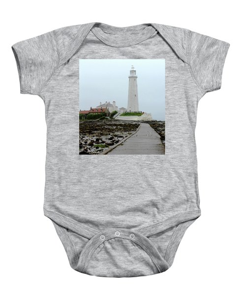 St Mary's Lighthouse Baby Onesie