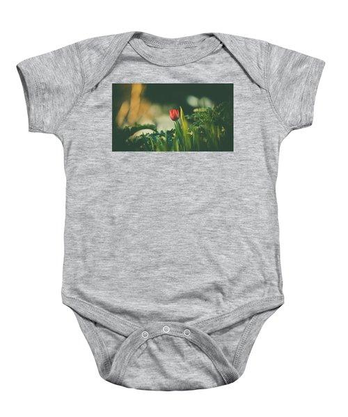 Start Of Spring Baby Onesie