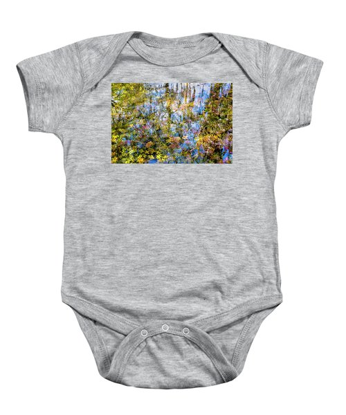 Stillness Holds Everything Baby Onesie