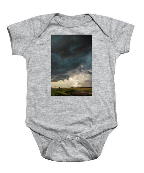 Storm Chasin In Nader Alley 012 Baby Onesie