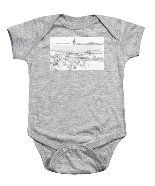 Subantarctic Island Baby Onesie