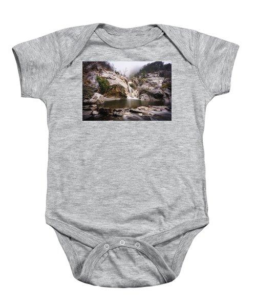 Suchurum Waterfall, Karlovo, Bulgaria Baby Onesie