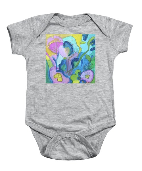 Sunny Day Abstract Baby Onesie