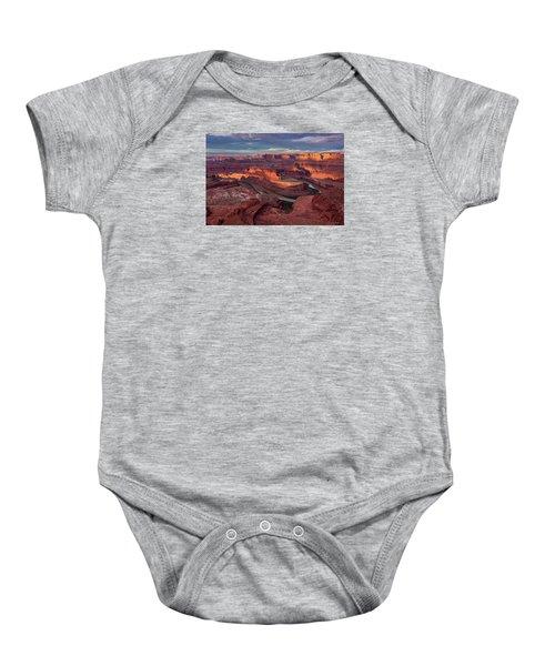 Sunrise At Dead Horse Point State Park Baby Onesie