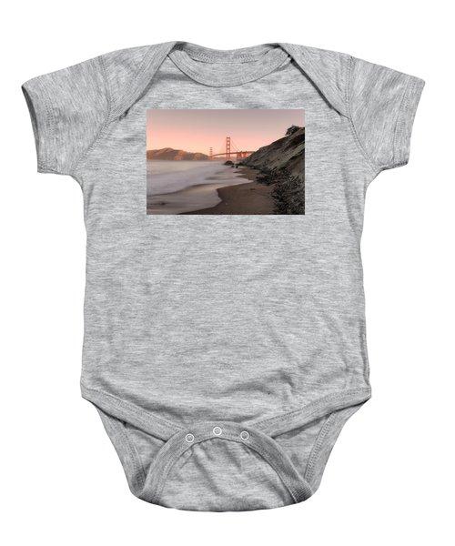 Sunrise In San Fransisco- Baby Onesie