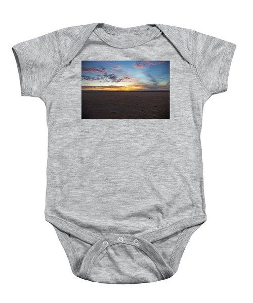 Sunrise Over The Mara Baby Onesie