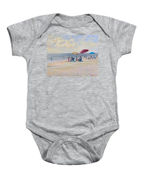 Sunset Beach Observers Baby Onesie