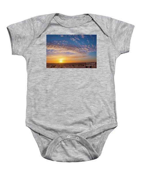 Sunset In The Sahara Baby Onesie
