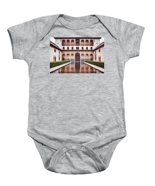 Suspended In Time Baby Onesie