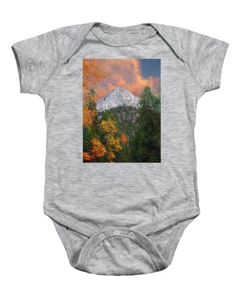 Tahquitz Peak - Lily Rock Painted Version Baby Onesie