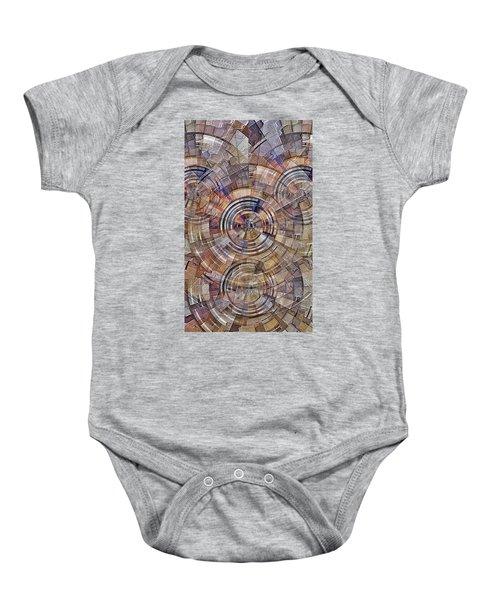 Test Pattern Baby Onesie
