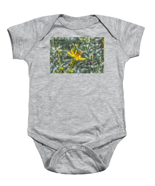 The Bee The Flower Baby Onesie