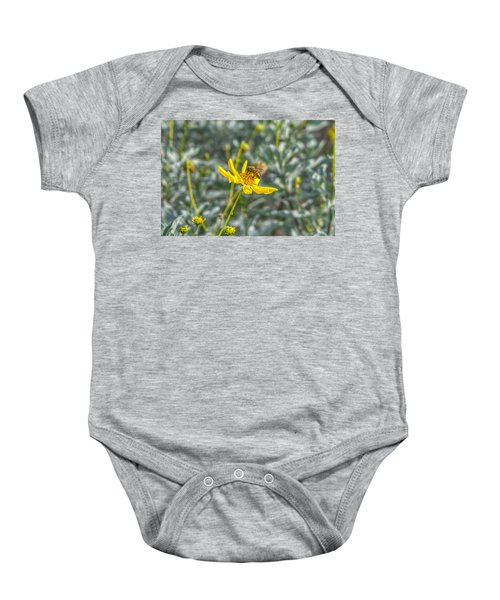 The Bee The Flower Baby Onesie