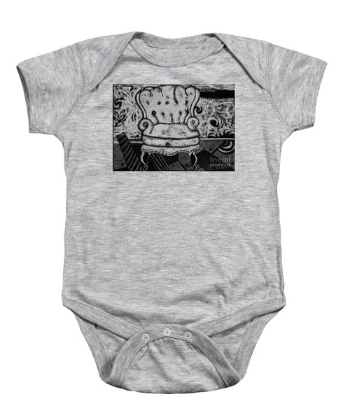 The Chair. Baby Onesie