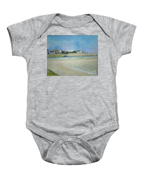 The Channel Of Gravelines Grand Fort Philippe Baby Onesie