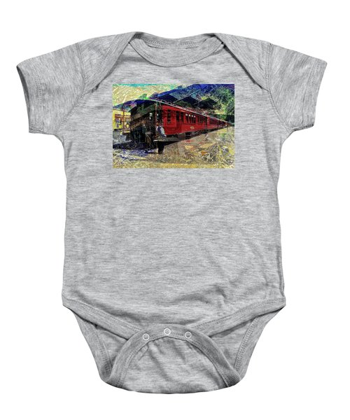 The Conductor Baby Onesie