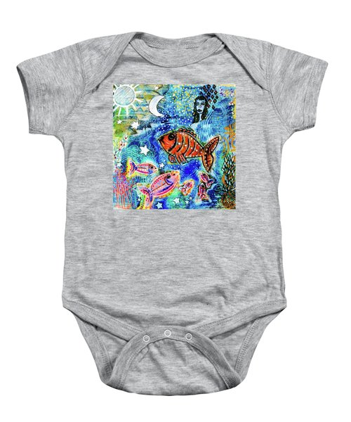 The Day The Stars Fell Into The Ocean Baby Onesie
