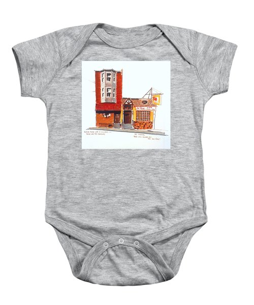 The Del Rose Baby Onesie