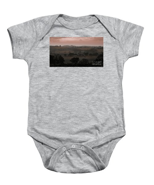 The English Landscape Baby Onesie