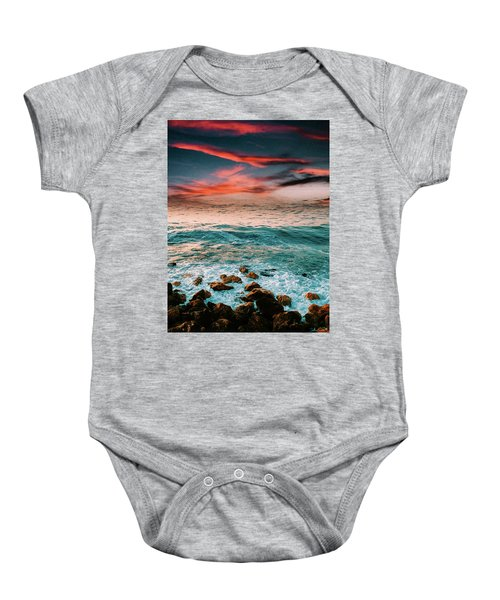 The Horizon Baby Onesie