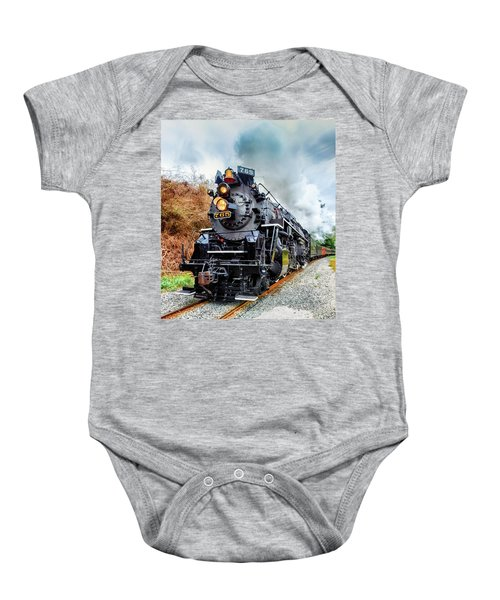 The Iron Horse  Baby Onesie