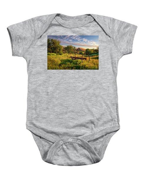 The Old Hay Rake Baby Onesie