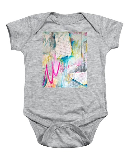 The Other Half Of My Heart Baby Onesie
