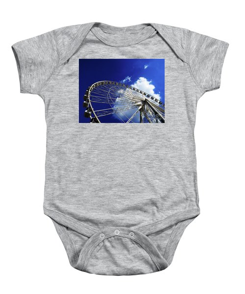 The Ride To Acrophobia Baby Onesie