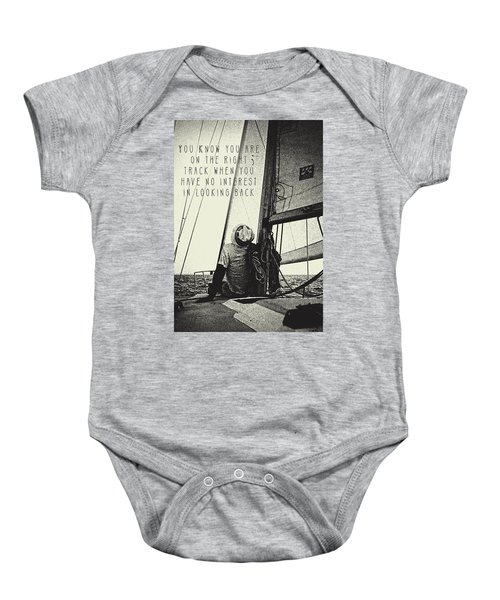 The Right Track Baby Onesie