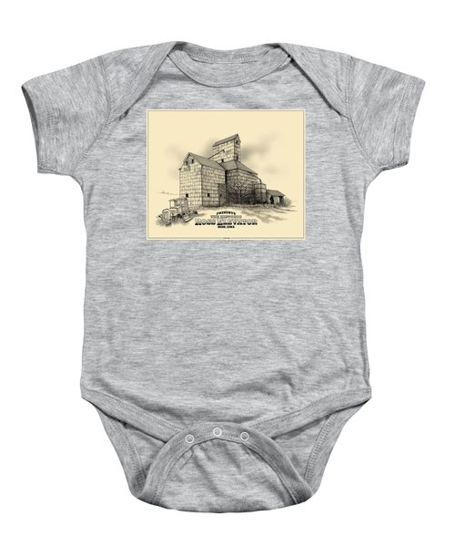 The Ross Elevator Version 2 Baby Onesie