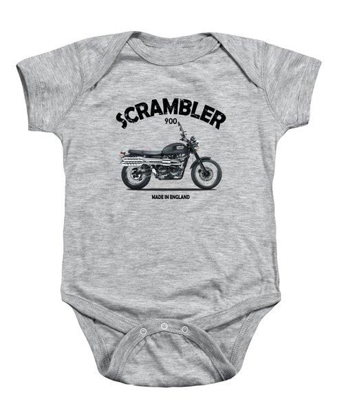The Scrambler 900 Baby Onesie