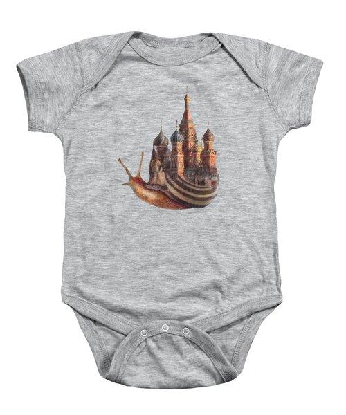 The Snail's Daydream Baby Onesie