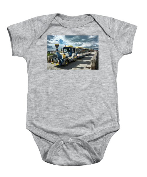 The Touristic Train Of Ourense Baby Onesie