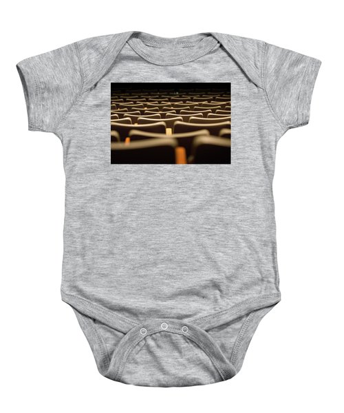 Theater Seats Baby Onesie