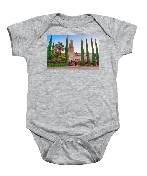 Tower Cafe Sunset- Baby Onesie