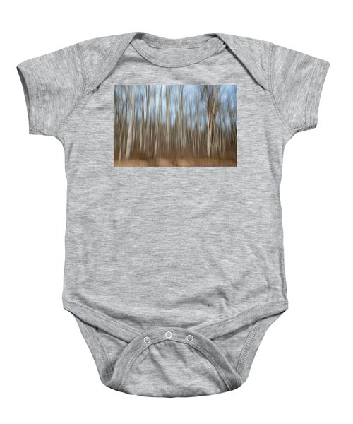 Trees In The Forest Baby Onesie