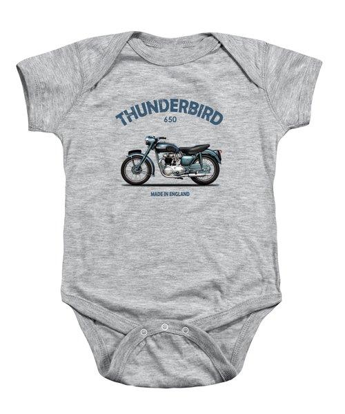 Triumph Thunderbird 1955 Baby Onesie