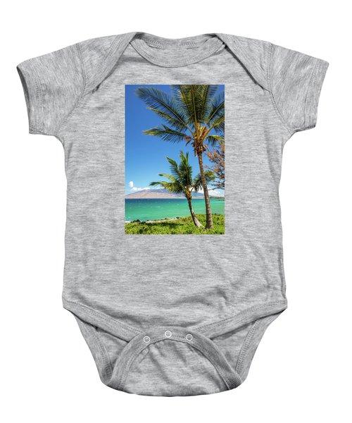 Tropical Aloha Baby Onesie
