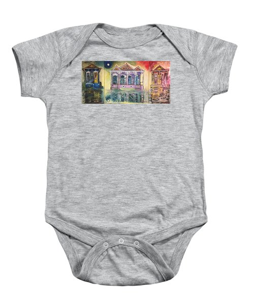 Tryptic On The Bayou New Orleans Baby Onesie