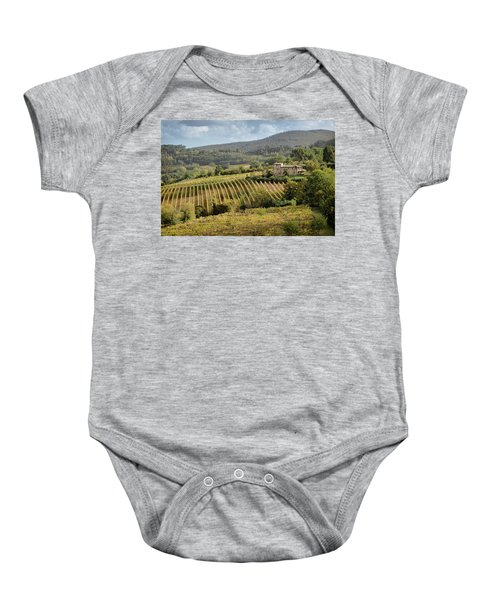 Tuscan Valley Baby Onesie
